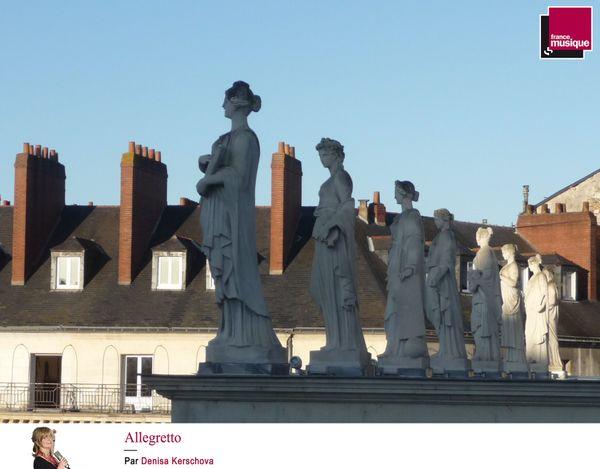 Statues du Théâtre Graslin
