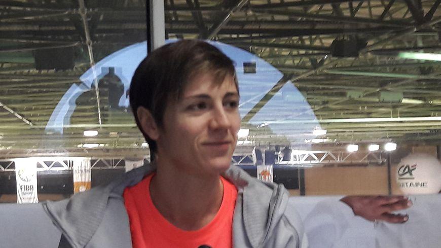 Céline Dumerc est arrivée pour la saison 2016-2017 à Basket Landes