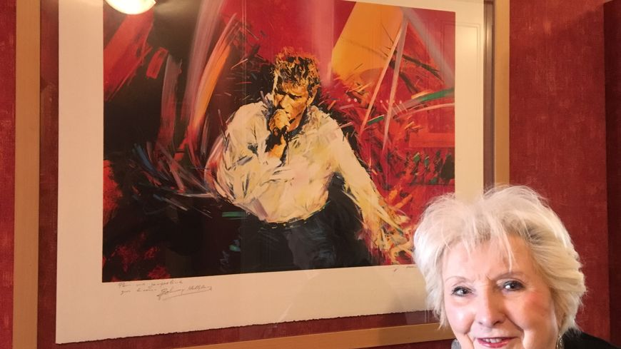 Jacqueline Benoit a cuisiné pour Johnny Hallyday de 1990 à 1996