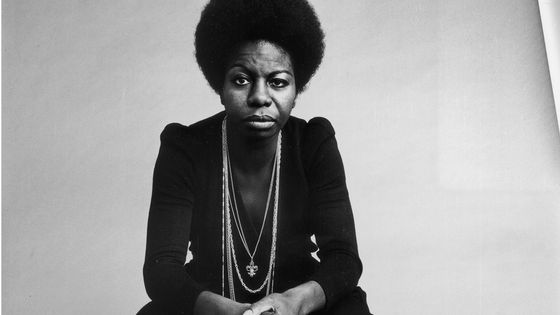 Portrait de Nina Simone en 1969.