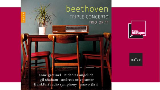 Anne Gastinel - Beethoven : triple concerto trio op. 11