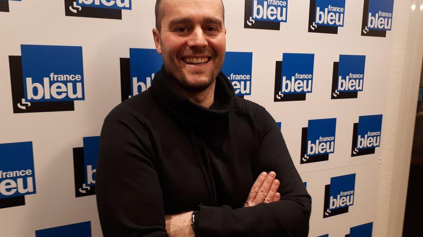 Sébastien Meyer, entraineur du Sarreguemines FC.