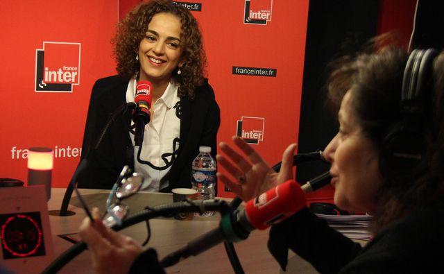 Leïla Slimani et Eva Bettan
