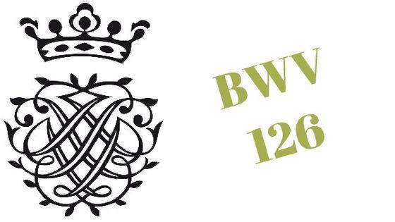 Monogramme de Bach / BWV 126