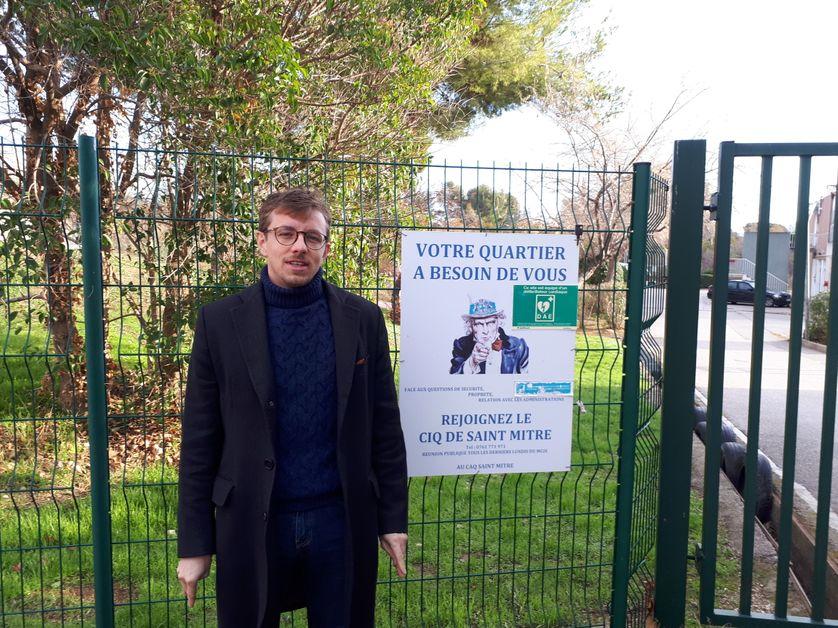 Guillaume Jesberger, assistant parlementaire de deux députés LREM à Marseille