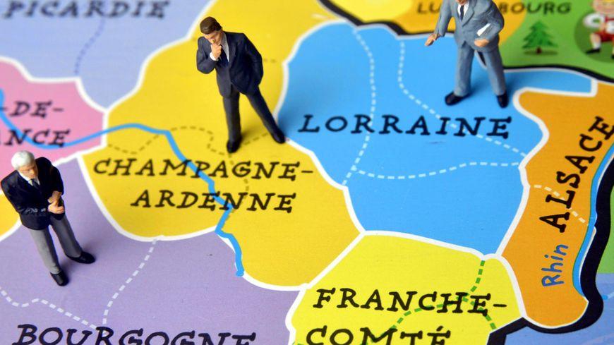 Les régions Alsace, Champagne-Ardenne et Lorraine ont fusionné pour créer le Grand Est.
