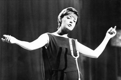 Jeanne Moreau à Montreux, le 4 mai 1963