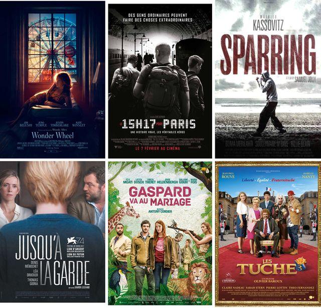 """Couvertures des films évoqués dans """"Le Masque et la Plume"""" cette semaine"""