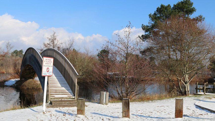 Il neige aussi dans les landes la preuve en images - Office du tourisme biscarrosse ...