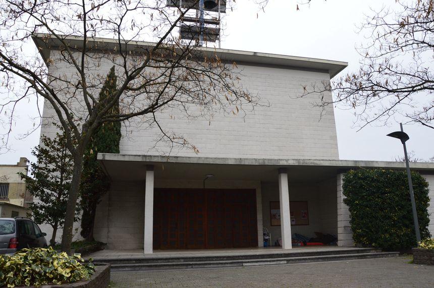 L'Eglise Saint-Catherine de Valence, sur l'avenue Victor Hugo