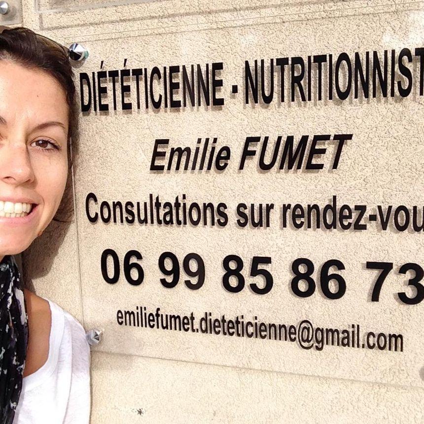 Emilie Fumet, diététicienne