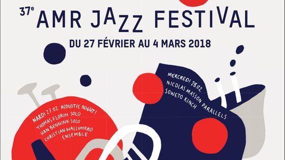 Affiche AMR Jazz Festival