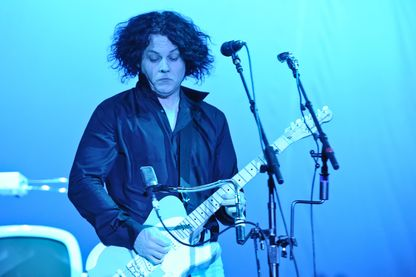 Jack White en concert à Houston en 2014