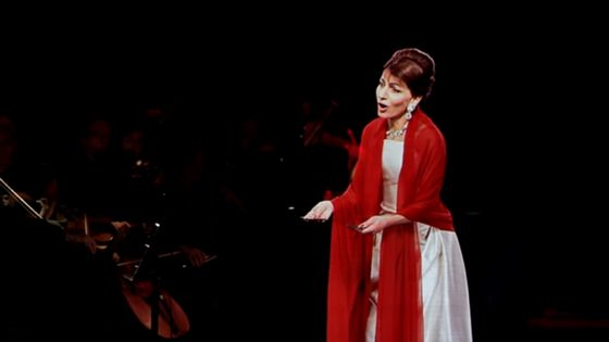 Maria Callas, en hologramme
