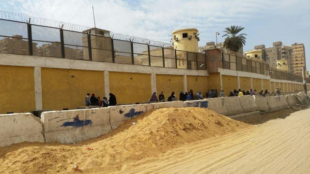 Dans cette prison du Caire sont détenue une partie des 60 000 personnes arrêtées en Egypte depuis le retours au pouvoir de l'armée en 2013
