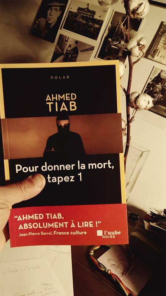"""Couverture de """"Pour donner la mort, tapez 1"""", aux éditions de l'Aube noire"""