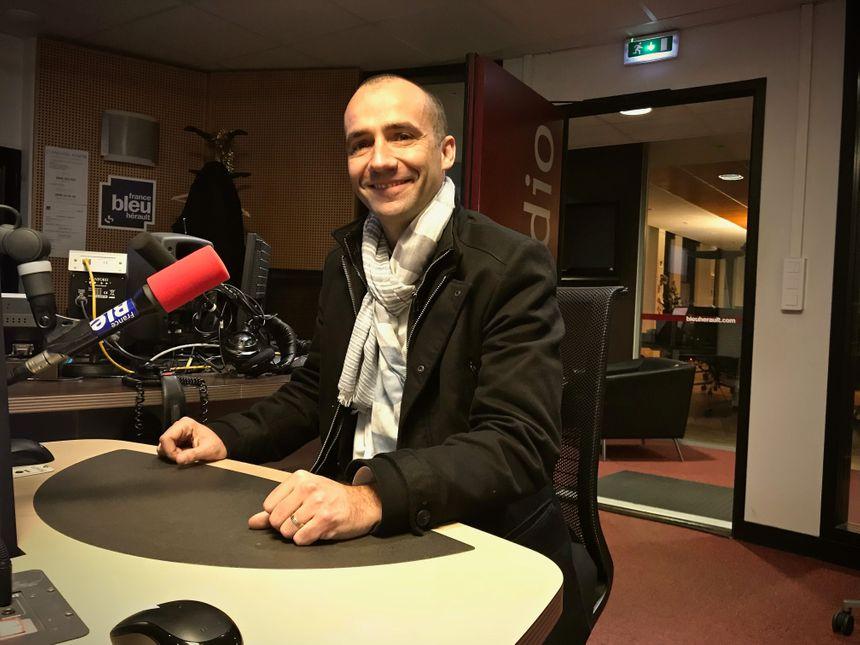 Wolfgang Idiri : le directeur d'Escale à Sète est l'invité de Bleu Littoral sur France Bleu Hérault