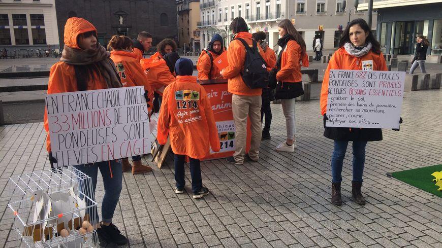 Une mobilisation avait lieu ce samedi place de Jaude
