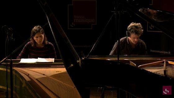 """""""Aparté"""", d'après le """"Prélude du Clavier bien Tempéré"""" de Bach par Edouard Ferlet et Violaine Cochard"""