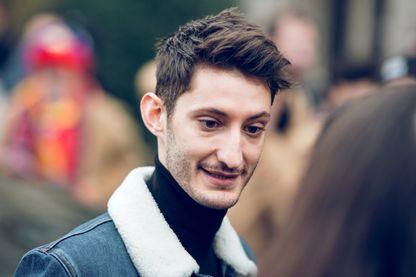 Pierre Niney en janvier 2018 à Paris