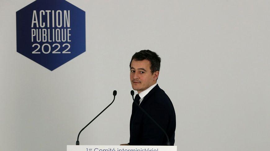 Gérald Darmanin, le ministre de l'Action et des Comptes publics, ce jeudi.