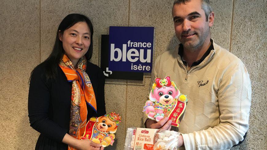 """Eve et Philippe Opdenacker du """"Ginger & Friends"""" à Grenoble"""
