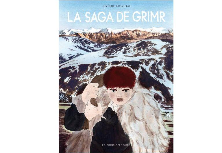 La saga de Grimr, Jérémie Moreau, éditions Delcourt