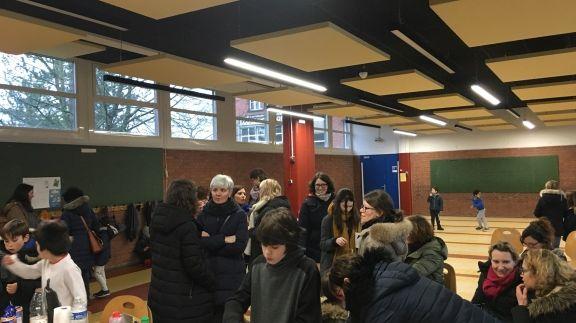 L'Ecole Delpech d'Amiens occupée par des parents d'élèves