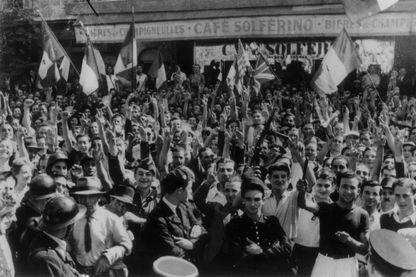 Libération de la Corse en septembre 1943, ici à Ajaccio