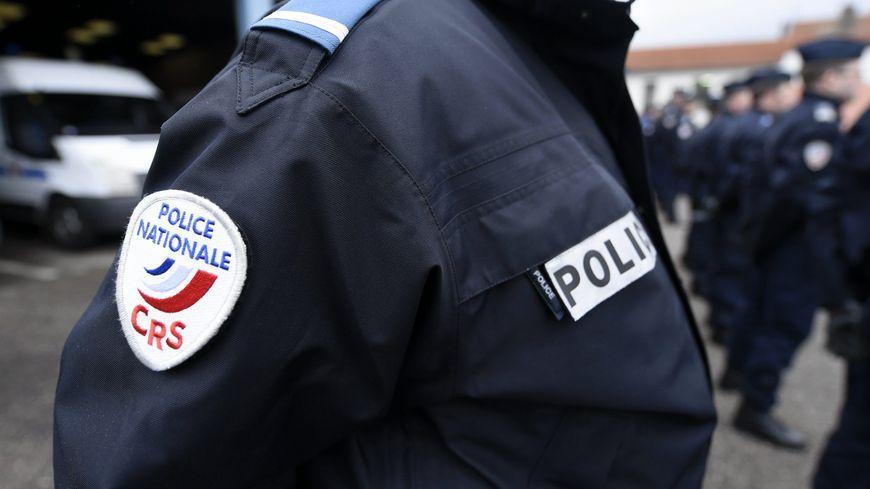 Policier lors d'une cérémonie officielle à Jarville (Illustration)