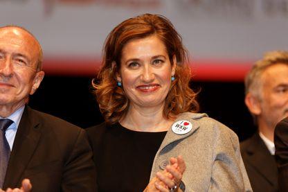 Emmanuelle Devos en décembre 2017 au Festival Lumière à Lyon