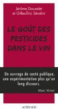 """Couverture, """"Le goût des pesticides dans le vin"""""""