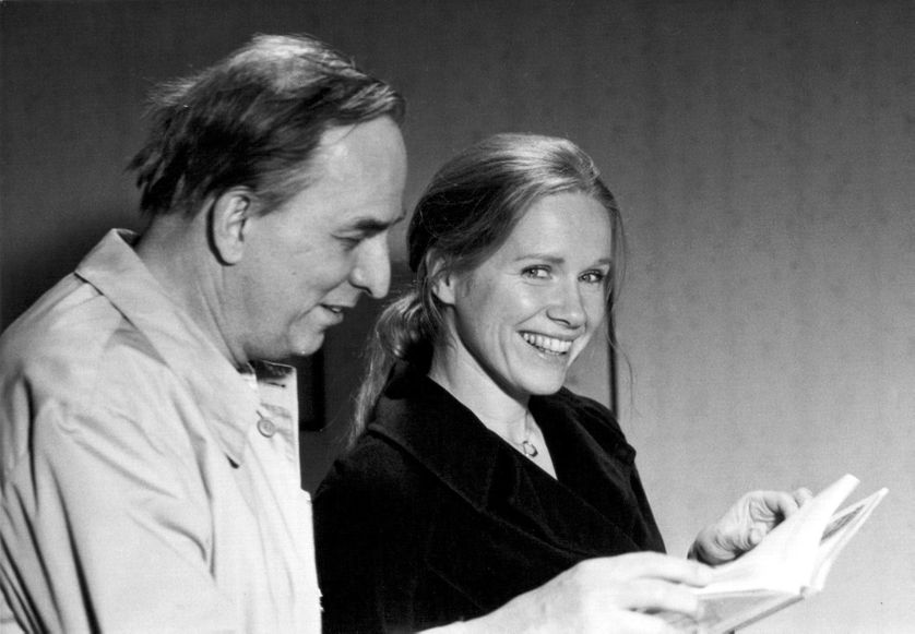 Liv Ullmann,  et Ingmar Bergman