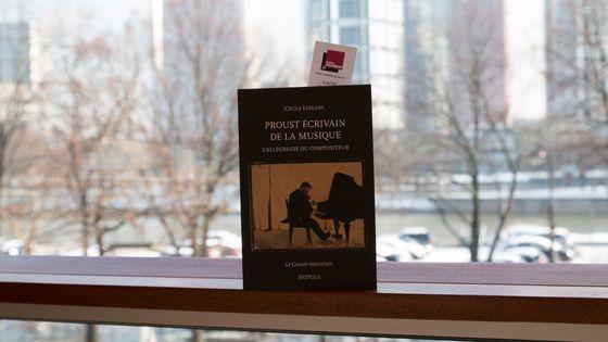 """"""" Proust écrivain de la musique, l'allégresse du compositeur """" de Cécile Leblanc"""