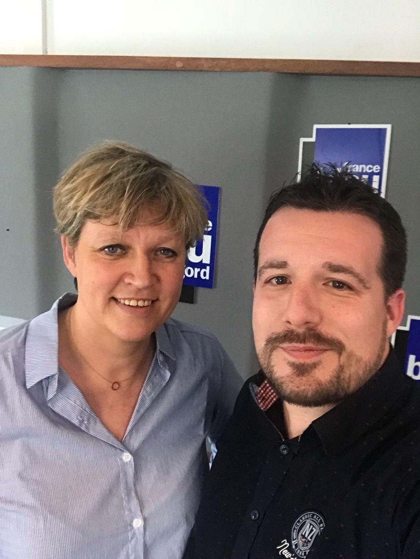 Nicolas Souchet  et  Marie Dominique Privé