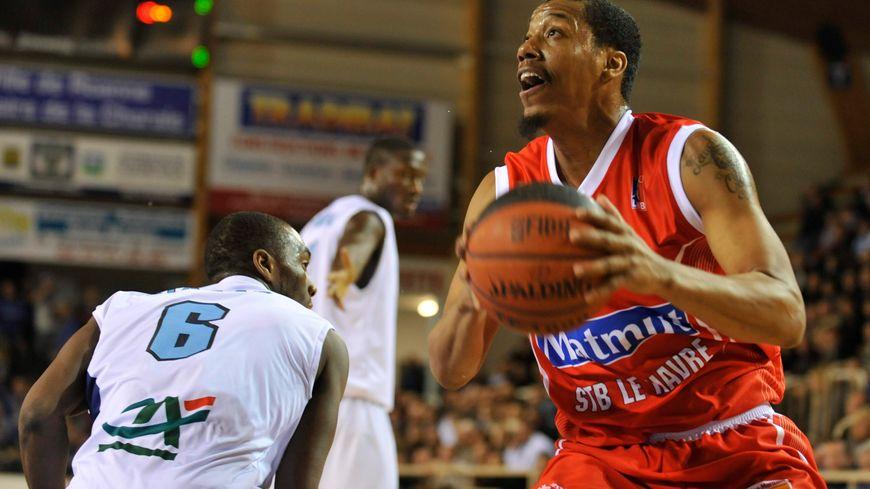 Bernard King portait les couleurs du Havre l'an dernier.