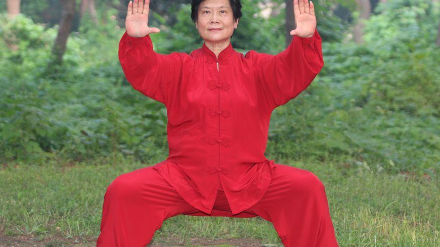 Madame Liu Ya Fei, directrice du centre de qi gong thérapeutique de Beidaihe (Chine)