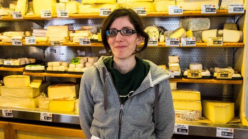 Marie GROS, Fromagère à Vesoul