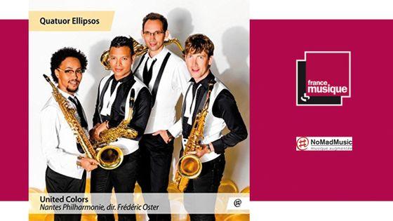 United Colors - Quatuor Ellipsos, Nantes Philharmonie, dir. Frédéric Oster