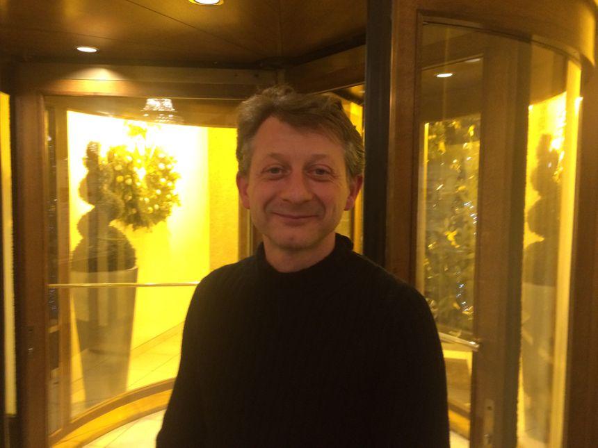 Jérôme Lasserre est le programmateur du Festival de Gérardmer