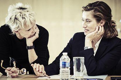 Tonie Marshall et Emmanuelle Devos