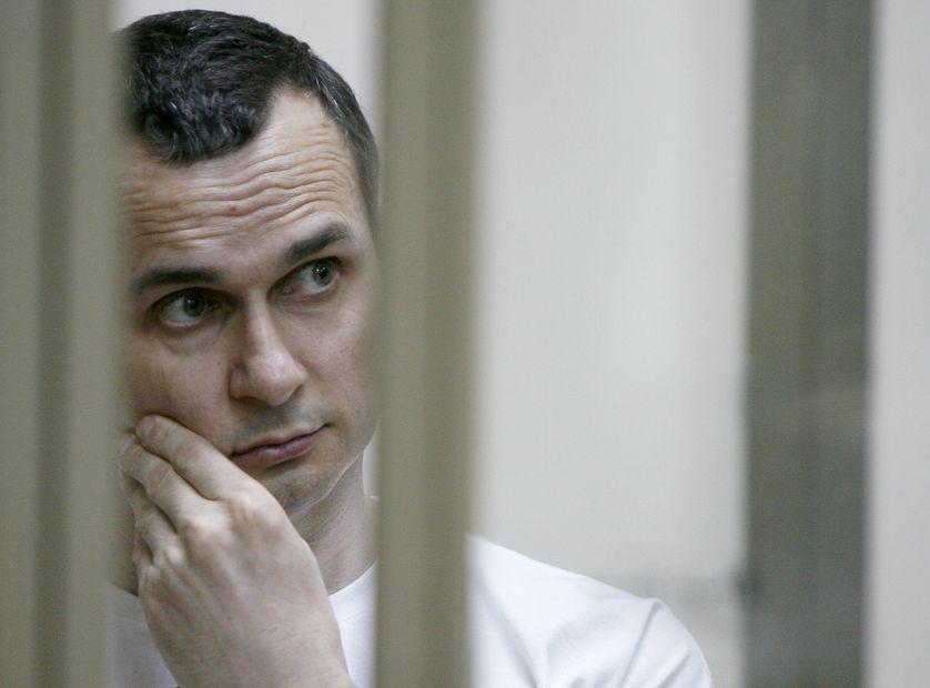 Le cinéaste ukrainien Oleg Sentsov arrêté en 2014 a été condamné à 20 ans de prison.