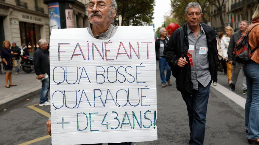 Manifestation de retraités ce jeudi