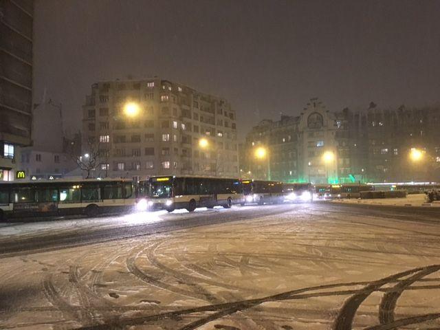 Quelle anticipation et gestion de crise quand les bus rejoignent précipitamment les dépôts et aggravent les embouteillages parisiens ?