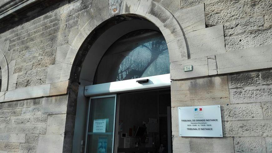 Le palais de Justice de Vesoul, en Haute-Saône