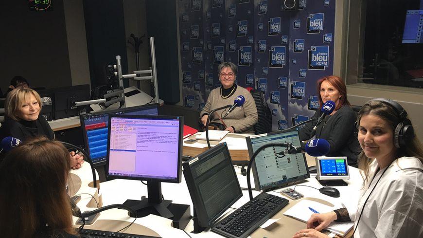 Louise Nicolai, Violette Garsi, Christiane Mercier et Isabelle Don Ignazi