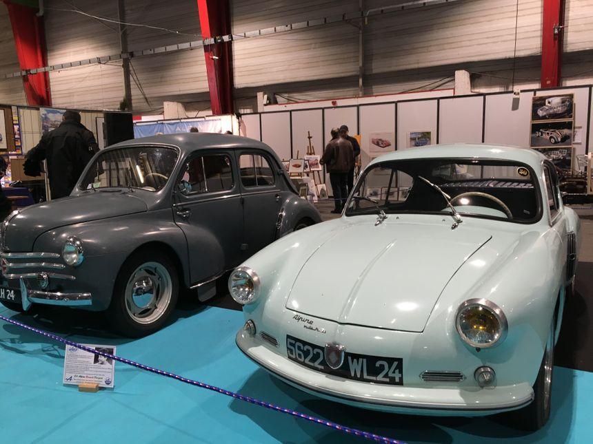 Le design des premières Alpine s'inspirait de la célèbre 2CV.