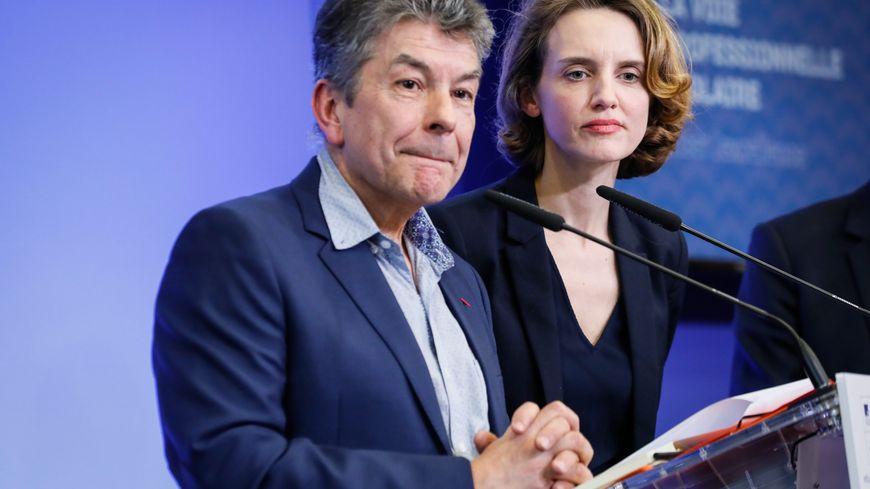 Régis Marcon et Céline Calvez auteurs du rapport sur la formation professionnelle