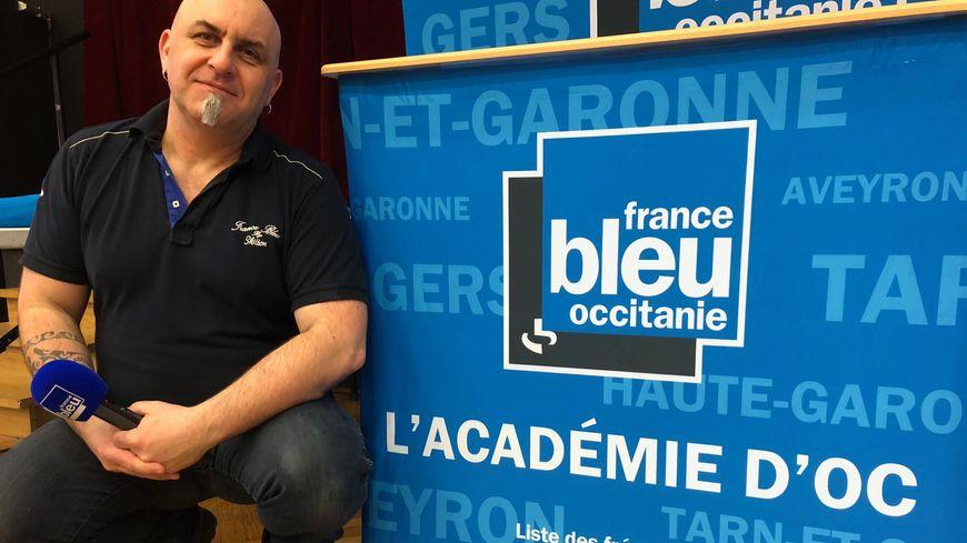 Sylvain Lecas animateur de l'Académie d'Oc