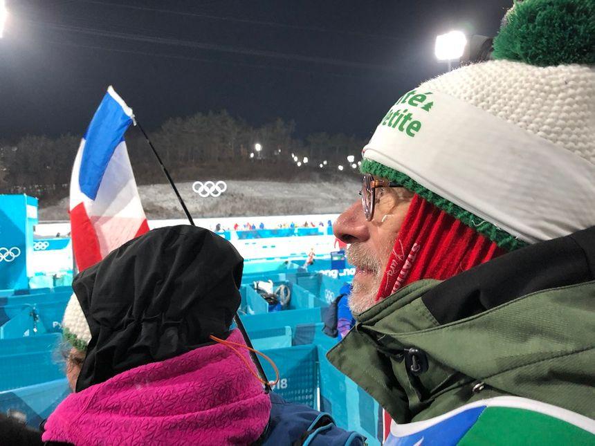 Christian, le papa d'Anaïs Bescond, est présent avec une partie de la famille à PyeongChang pour cette olympiade 2018 en Corée du Sud